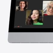 iMac met nanotextuur glas op het scherm.