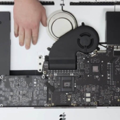27-inch iMac teardown geen harddisk