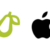 Prepear logo vs Apple