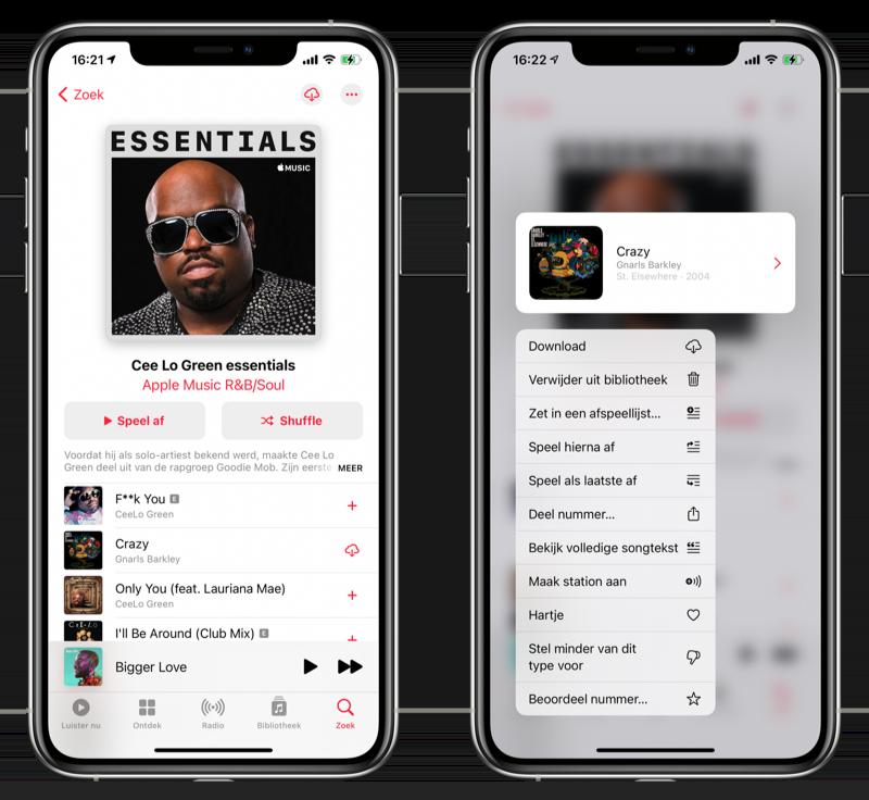Muziek downloaden Apple Music