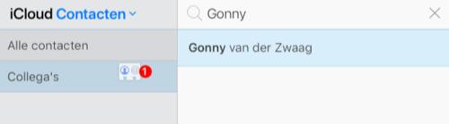 Groepen maken e-mail iCloud