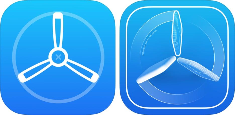 TestFlight nieuw icoon
