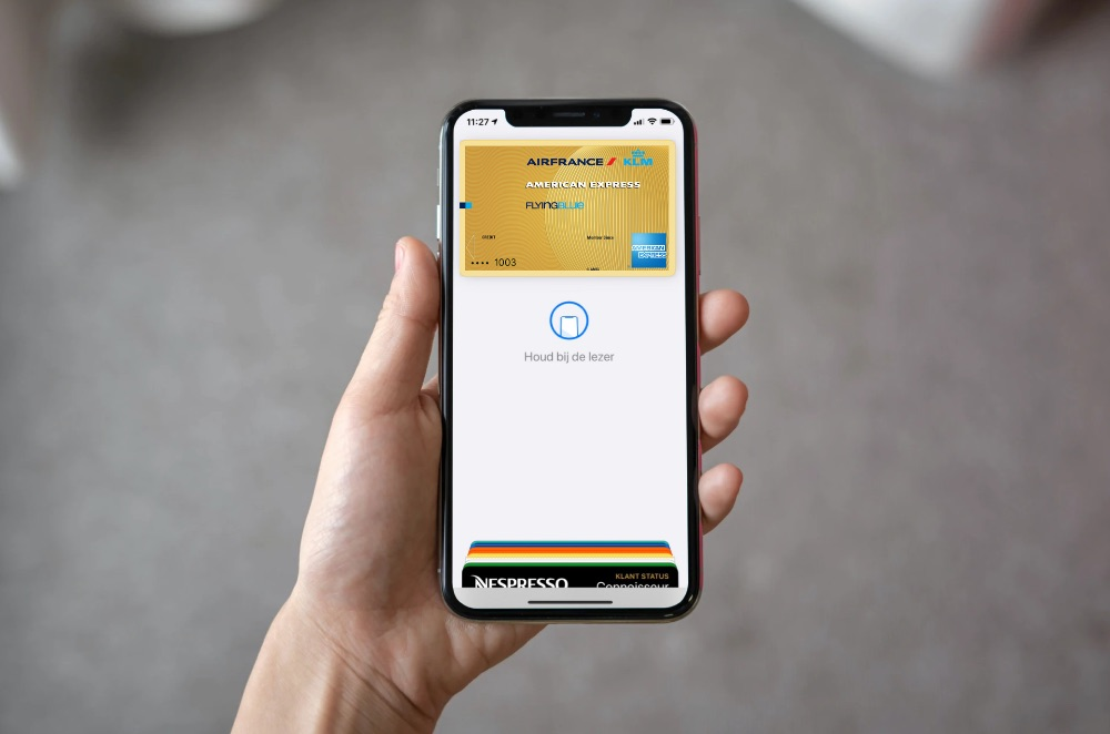 American Express Apple Pay in Nederland.