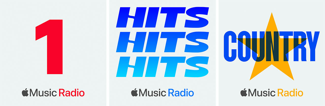 Apple Music radio zenders