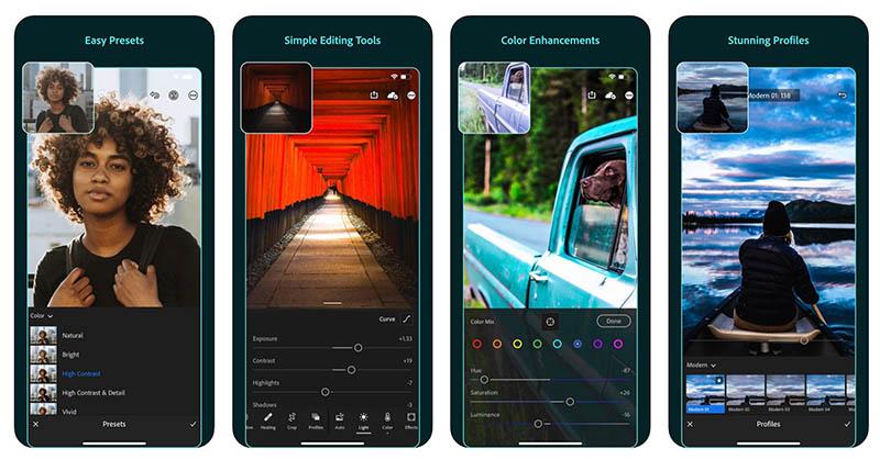 Adobe Lightroom voor iOS