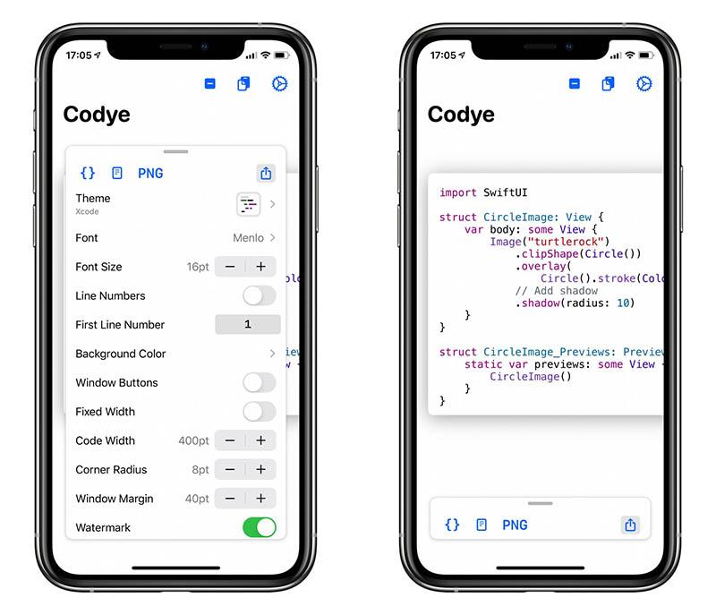 Codye app