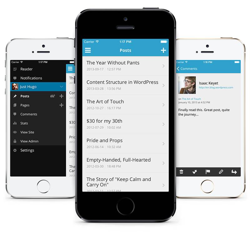 WordPress iOS-app