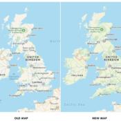 Apple start met verbeterd kaartmateriaal in Verenigd Koninkrijk en Ierland