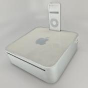 Mac mini prototype met iPod dock.