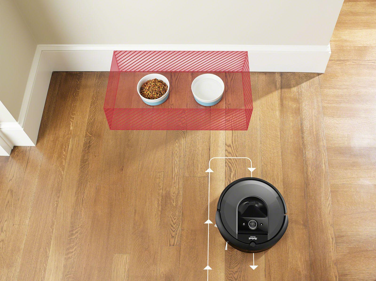 Keep out zones Genius Home Intelligence van iRobot.