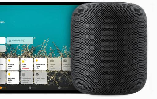 HomePod met iPad Pro