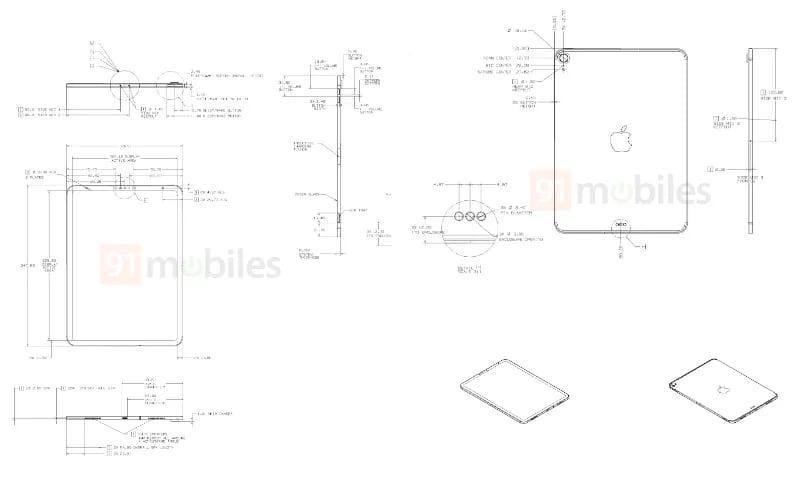 Tekening iPad 2020