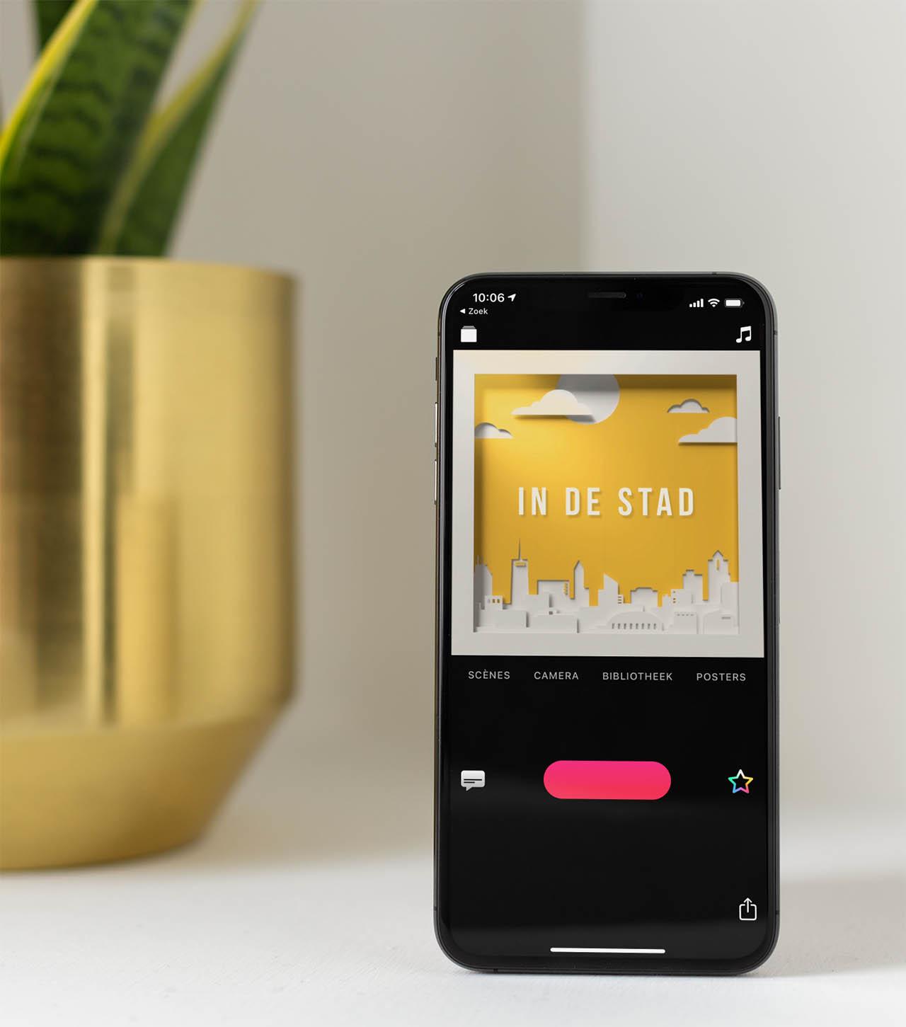 Clips-app video's maken