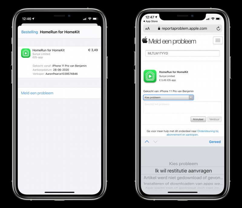 App refund: geld terugvragen voor een app.
