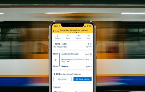 Treinapps: NS op de iPhone.