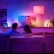 Philips Hue Gradient Lightstrip in kamer