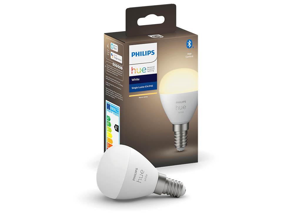 Philips Hue White E14 Luster kleine kogellamp