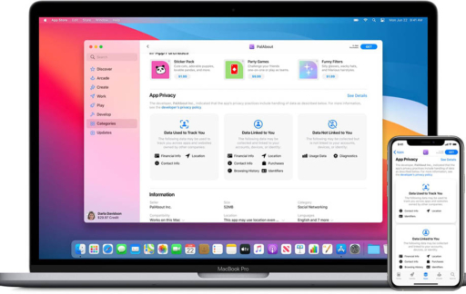 App Store privacy info iOS 14