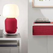 IKEA Symfonisk in rood