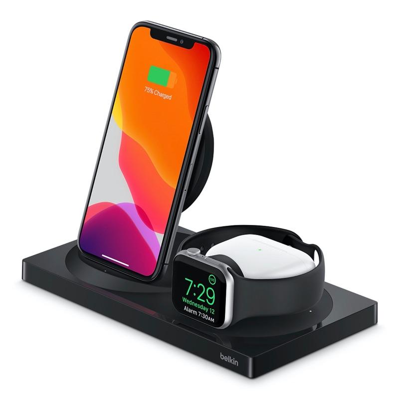 Belkin Boost Up Charge 3-in-1 zwart (Apple-versie)