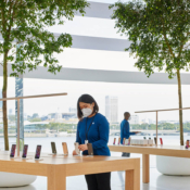 Apple Marina Bay Sands tafels