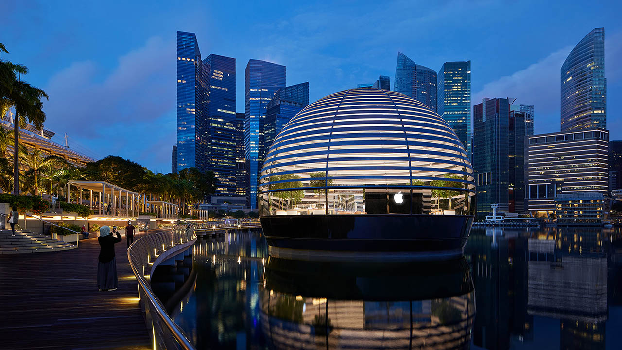 Apple Marina Bay Sands in Singapore