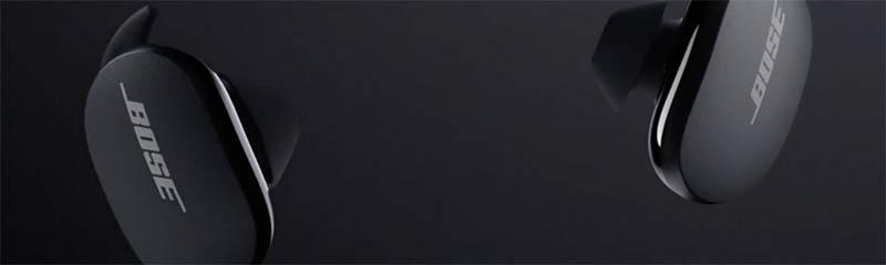 Bose QuietComfort Earbuds in zwart