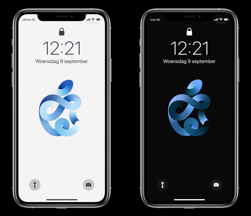 Apple event wallpapers voor iPhone.