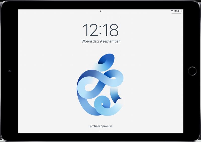 Apple event wallpapers voor iPad.