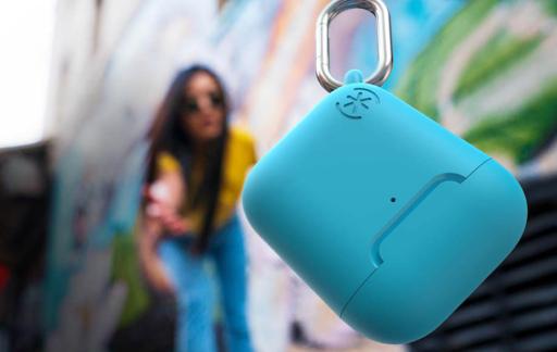 AirPods case blauw