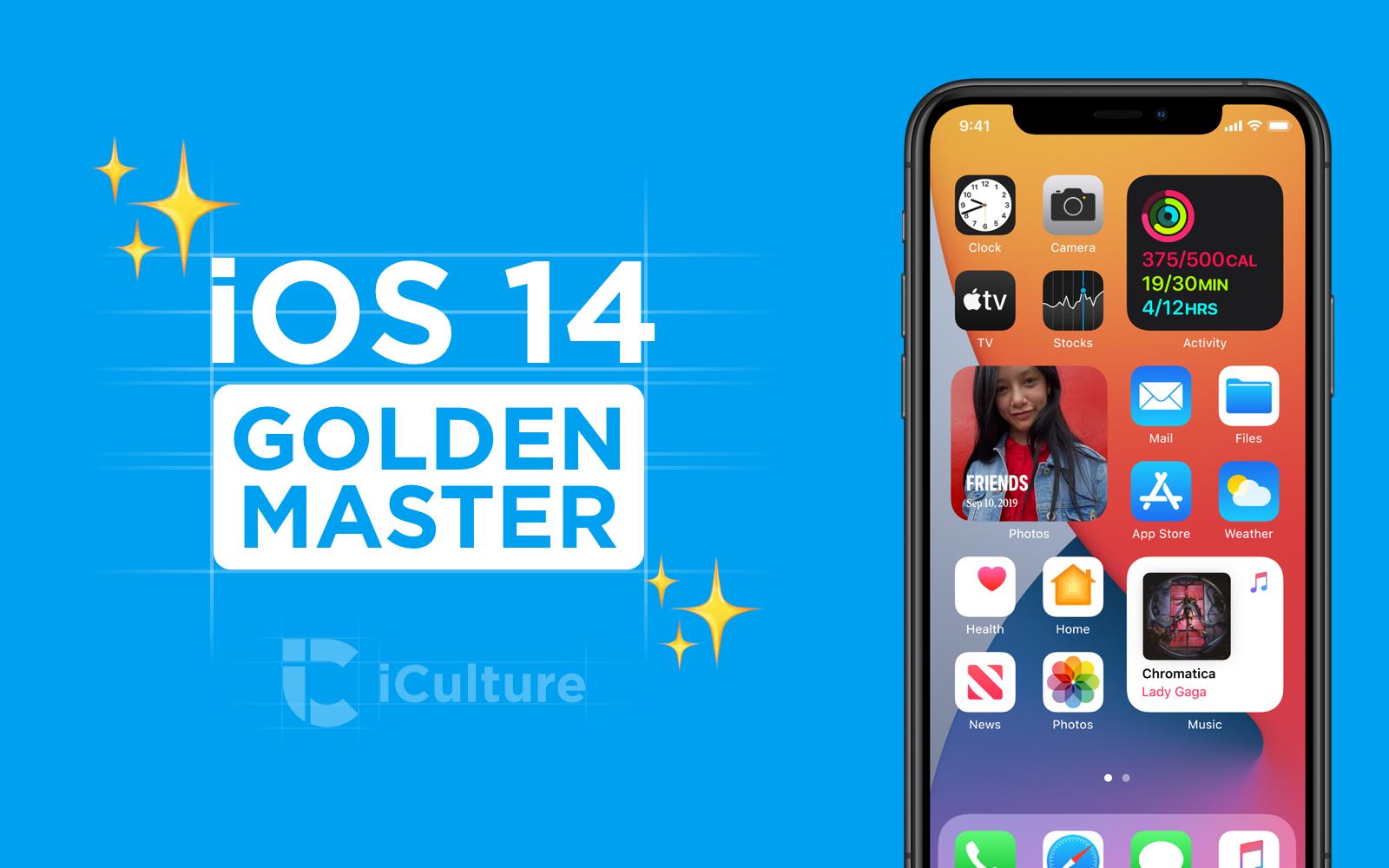iOS 14 Golden Master.