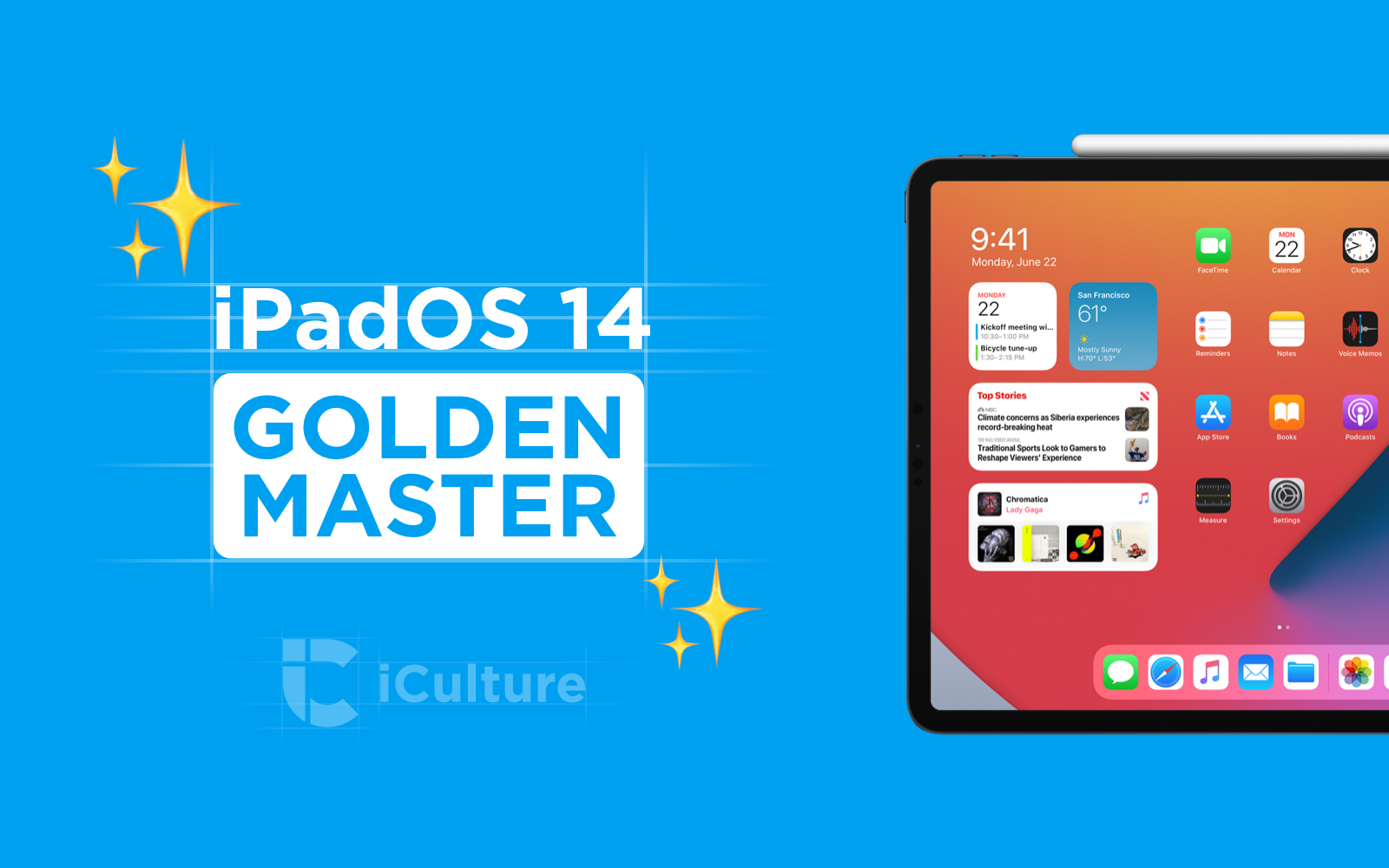 iPadOS 14 Golden Master.