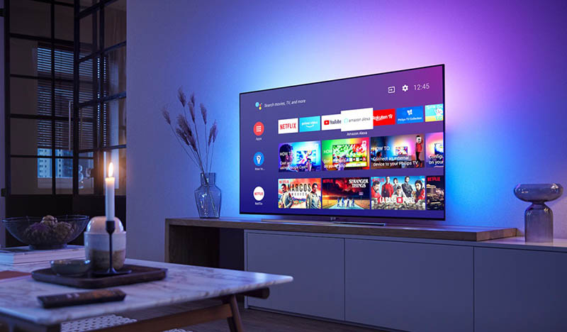 Android tv op Philips