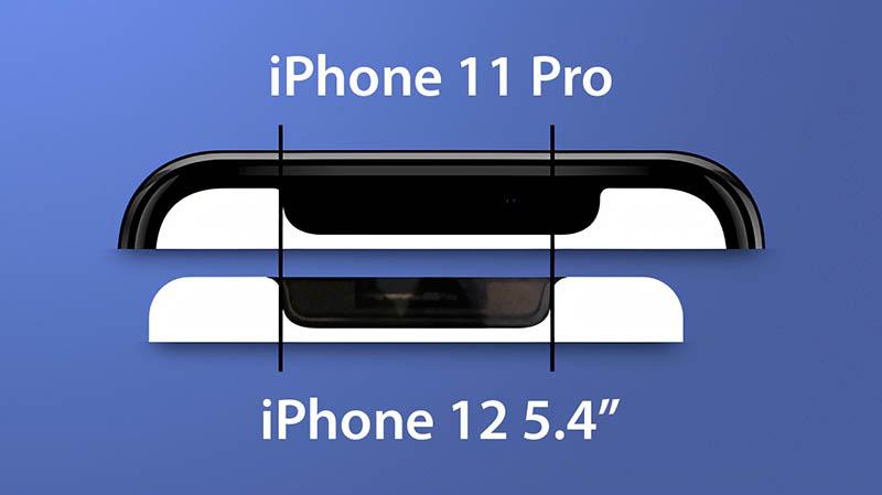 iPhone 12 kleinere notch