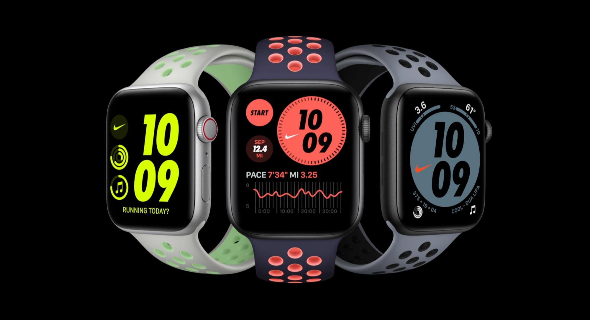 Apple Watch Nike-bandjes