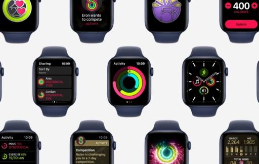 Apple Watch activiteit