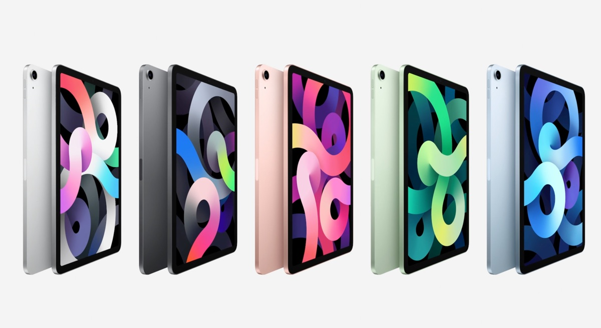 iPad Air 4 kleuren