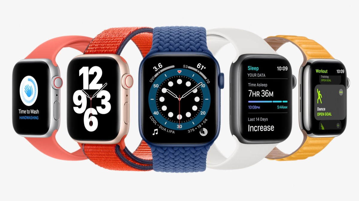 Apple Watch Series 6 met watchOS 7 functies