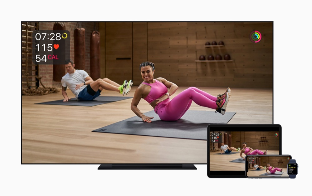 Apple Fitness alle apparaten