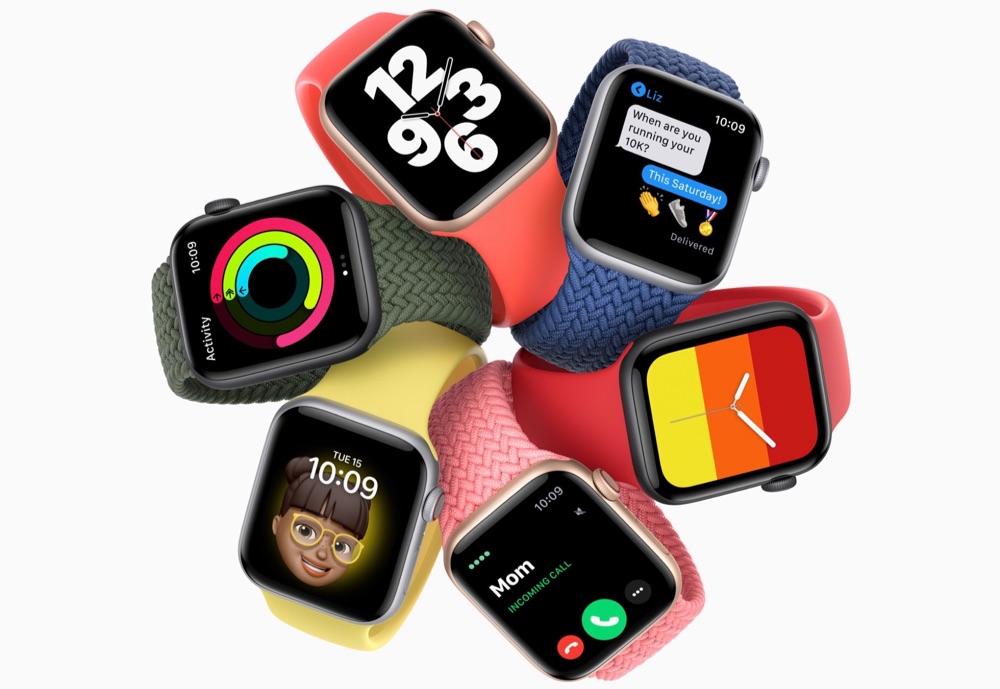 Apple Watch SE met Solo Loop