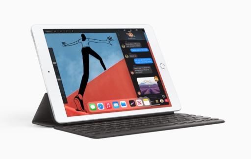 iPad 8e generatie met toetsenbord
