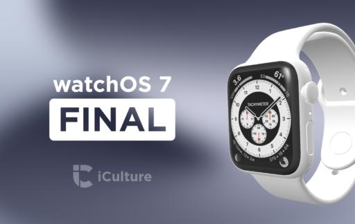 watchOS 7 Final.