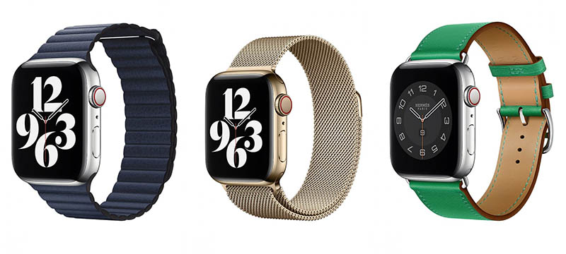 Apple Watch Series 6 speciale bandjes