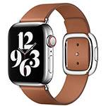 Apple Watch-bandje met moderne gesp