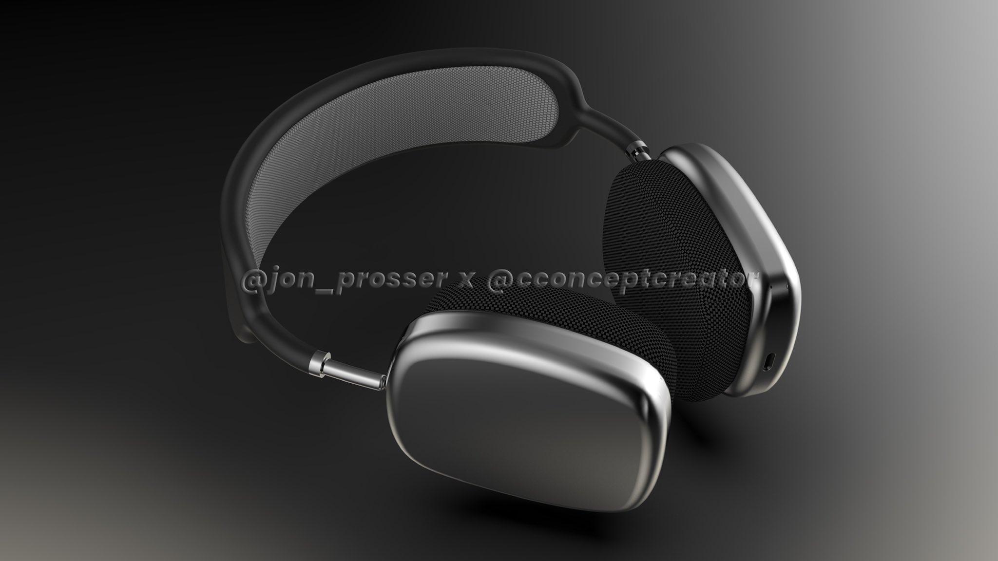 AirPods Studio design renders.