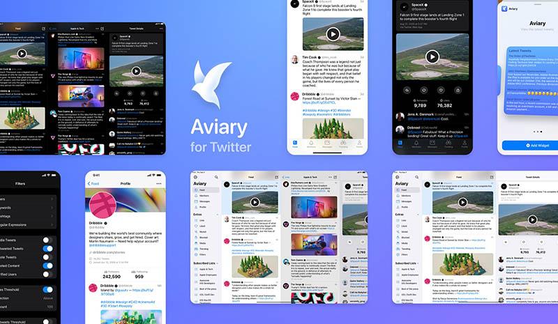 Aviary Twitter voor iOS 14