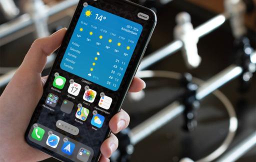 Apps aangepast voor iOS 14: Carrot Weather