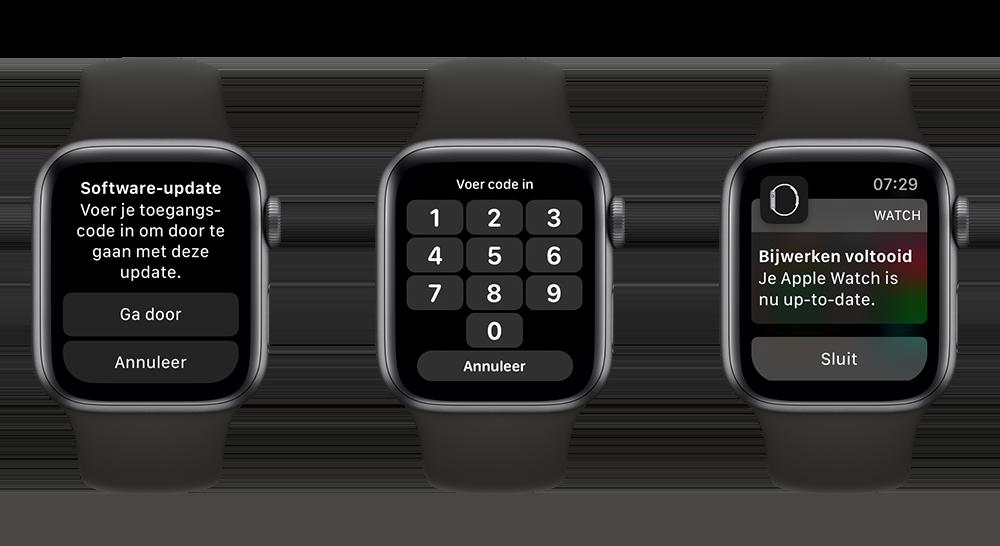 Apple Watch updaten