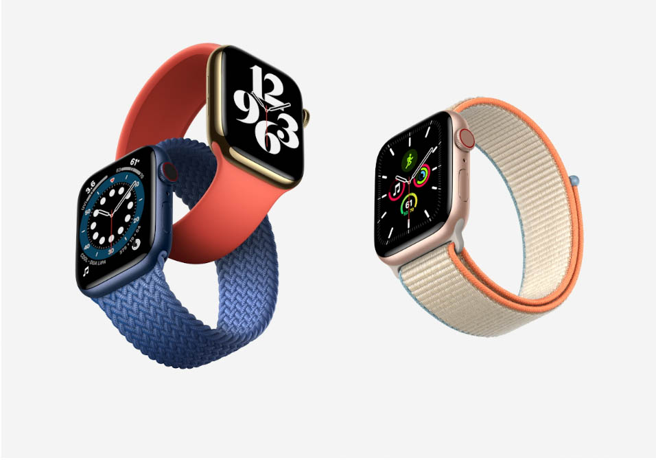 Apple Watch Series 6 vs Apple Watch SE.