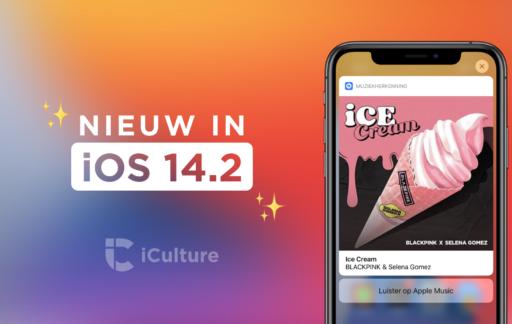 iOS 14.2 functies.
